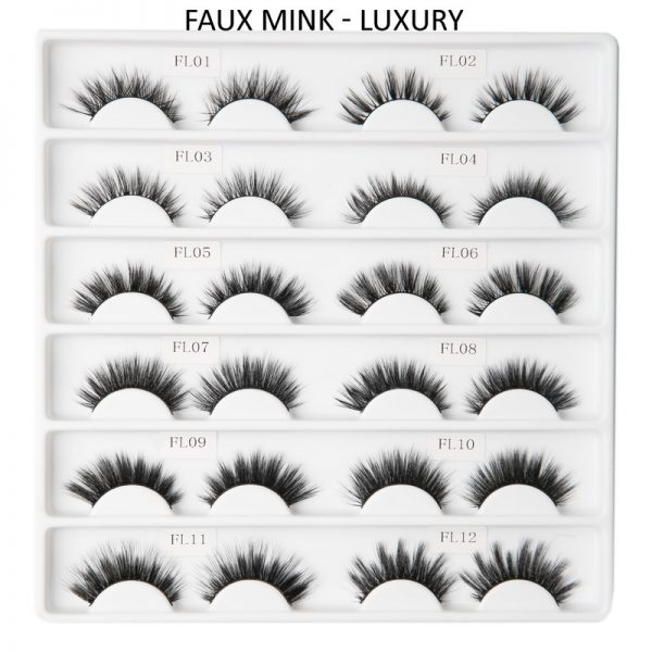 FAUX MINK Lashes-Luxury Collection