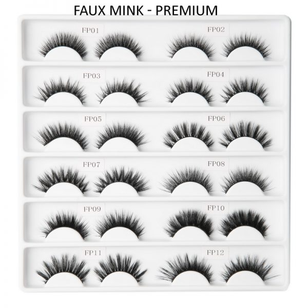 FAUX MINK Lashes-Premium Collection