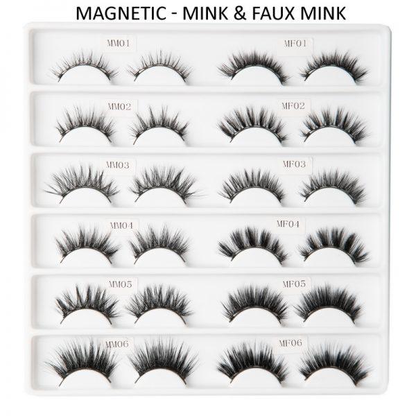 Aurora Private label magnetic eyelashes