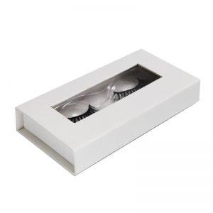 aurora lashes private label eyelashes box-Faux Crocodile in white