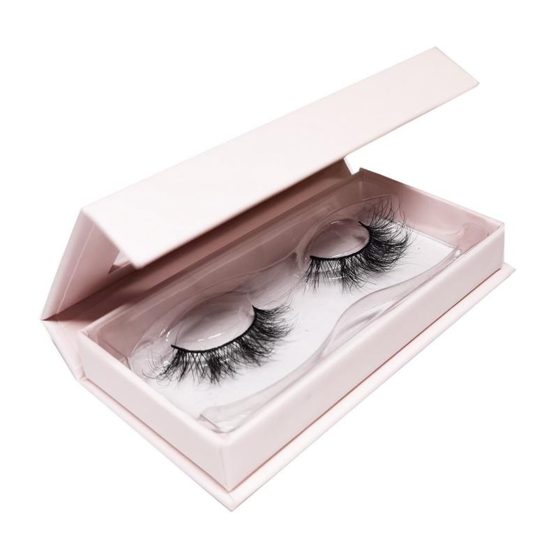 aurora lashes private label eyelashes box-baby pink