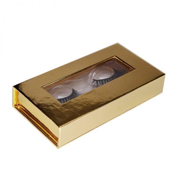 aurora lashes private label eyelashes box-gold