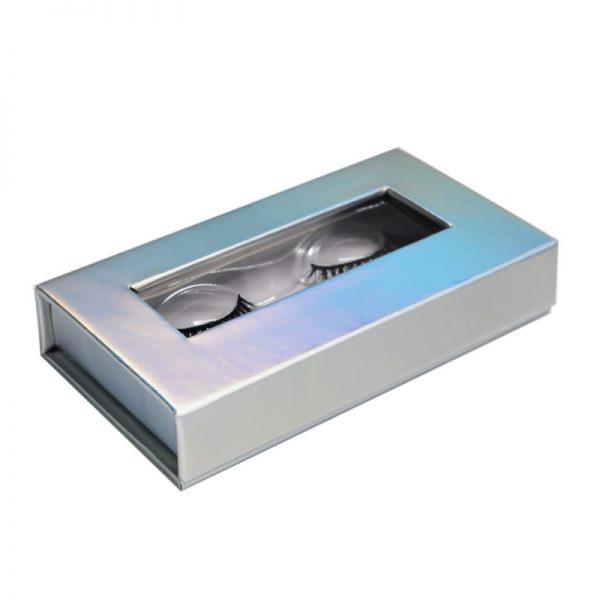aurora lashes private label eyelashes box-hollographic