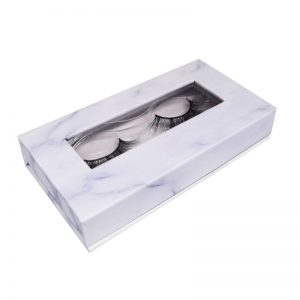 aurora lashes private label eyelashes box-marble box