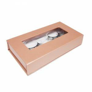 private label eyelashes box-Rose gold 2