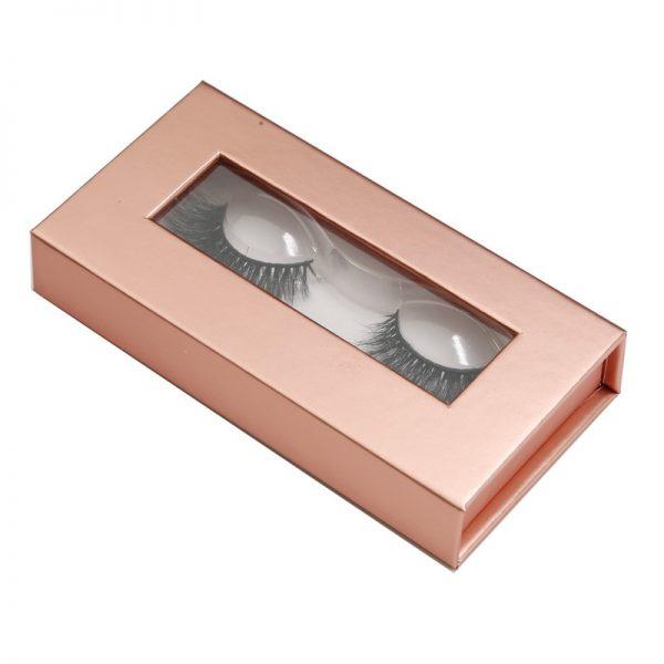 private label eyelashes box-Rose gold