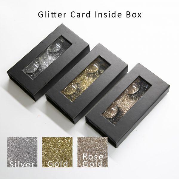 Glitter Paper inside box