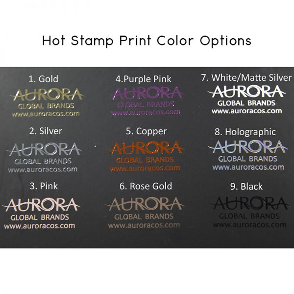Hot stamp print color option