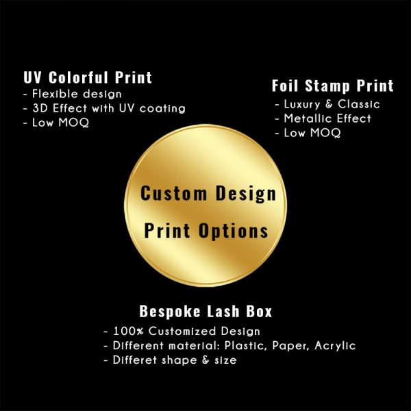 Private label Print options