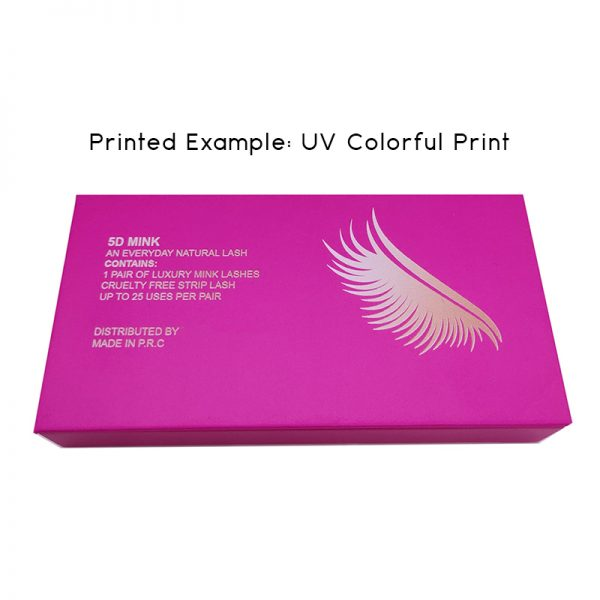 UV colorful print