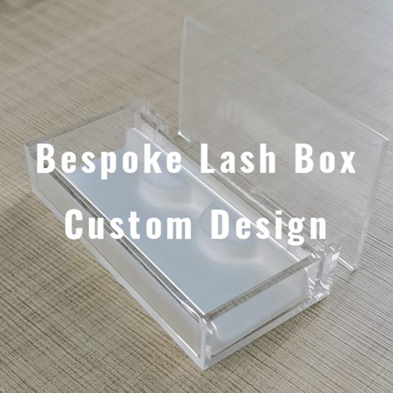 bespoke lash box design