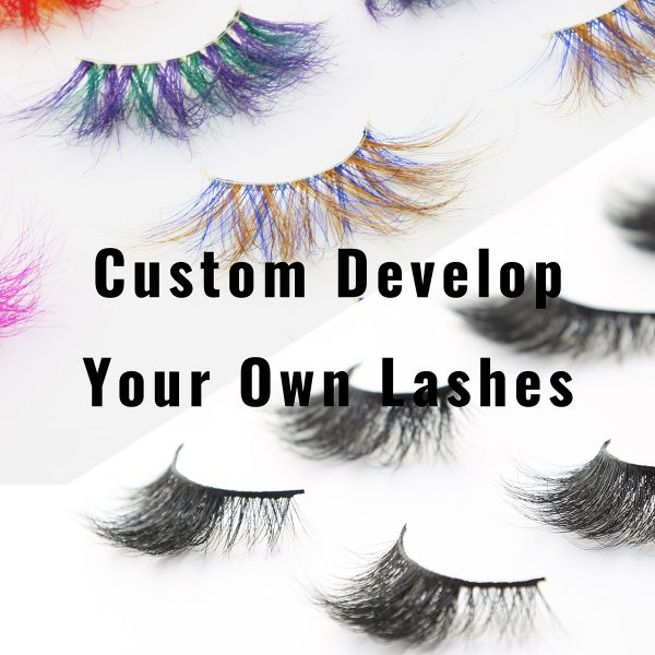 custom develop your own lashes